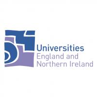 Universities England and Northern Ireland vector