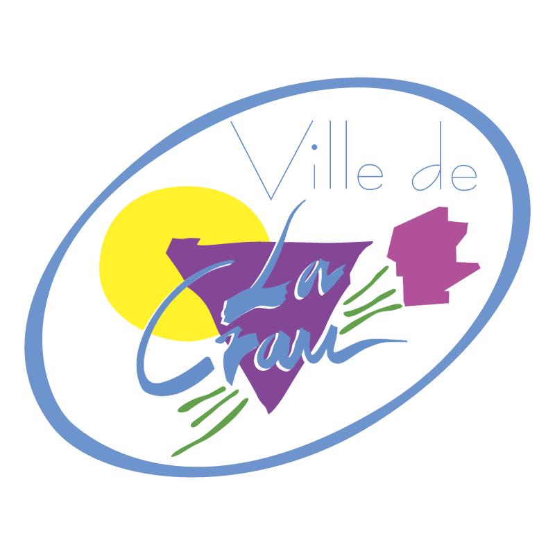 Ville de La Crau vector