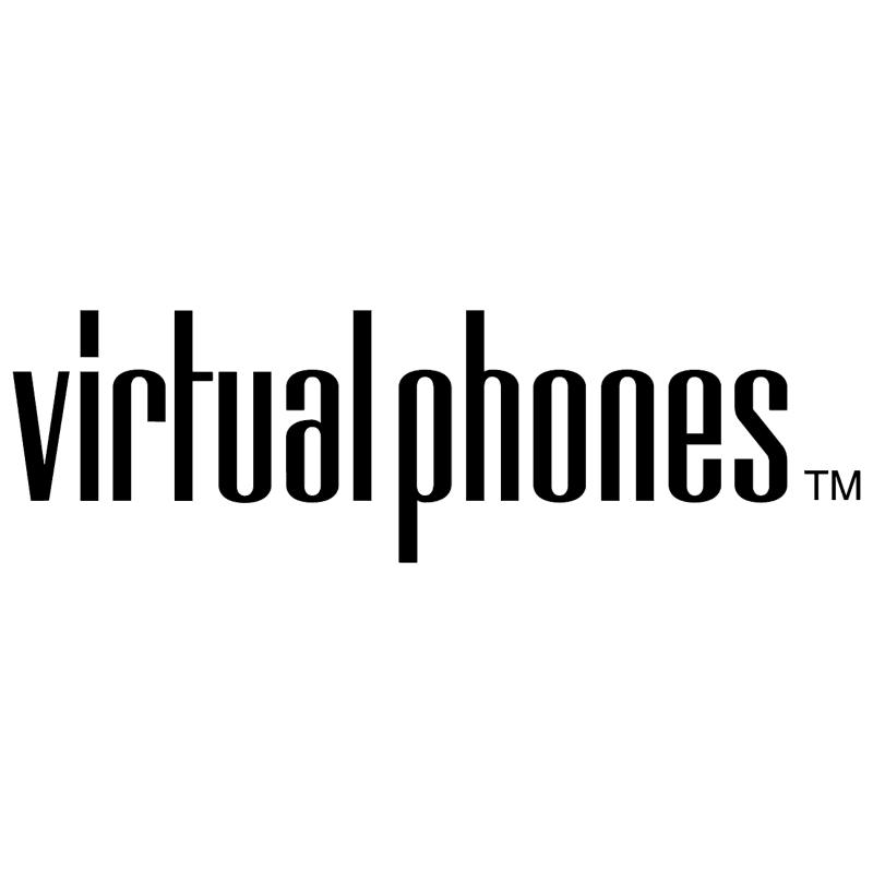 Virtual Phones vector