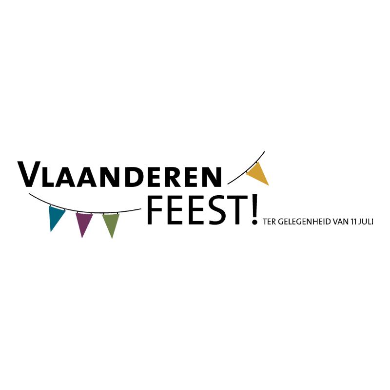 Vlaanderen Feest! vector