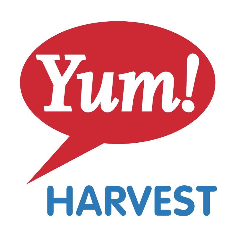 Yum! Harvest vector