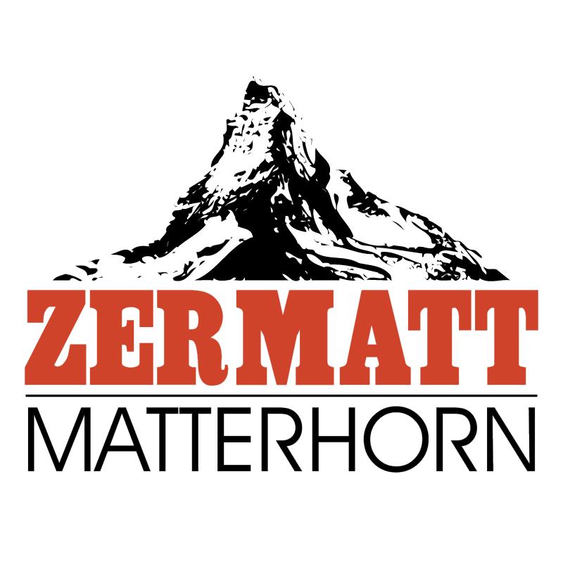 Zermatt Matterhorn vector