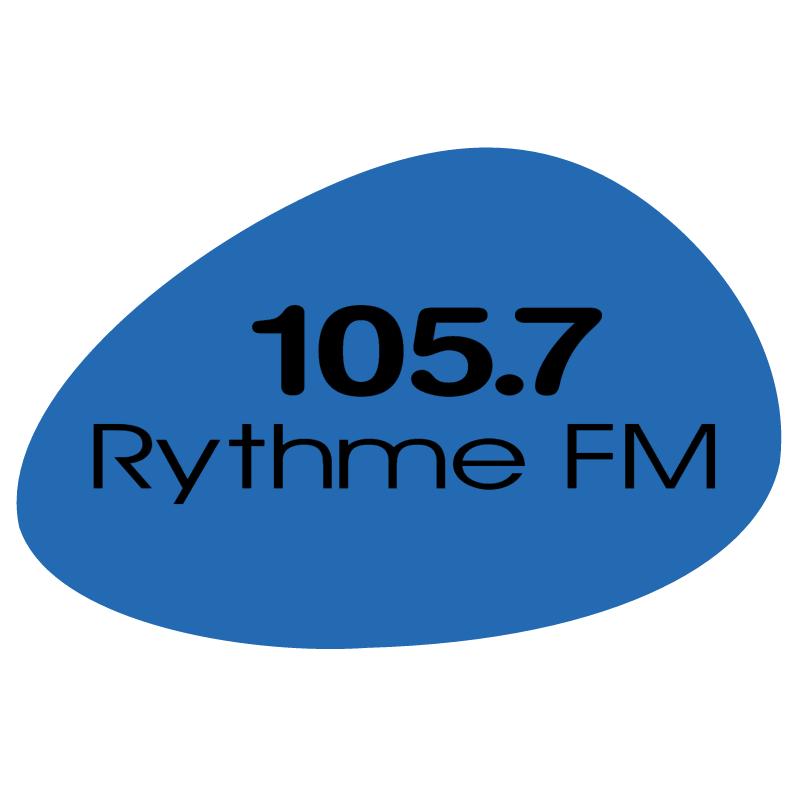 105 7 Rythme FM vector
