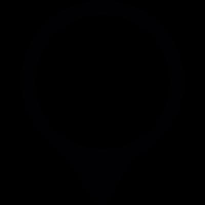 Localization mark vector logo