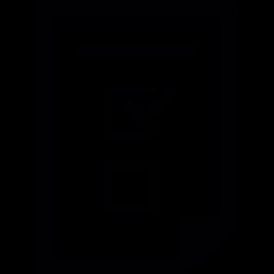Application form vector logo