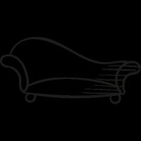 Elegant Sofa vector