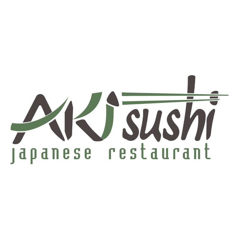 Aki Sushi vector