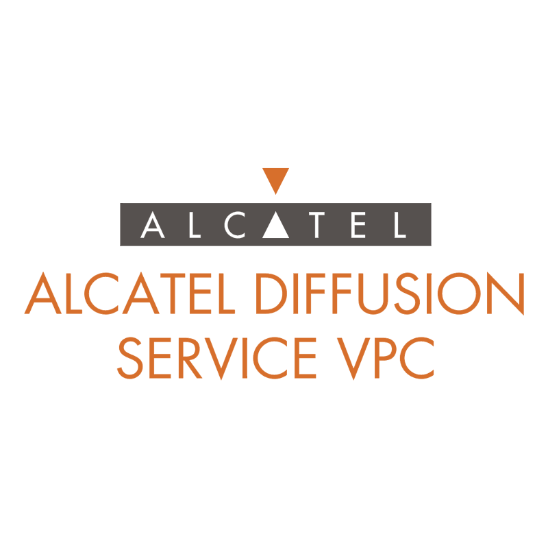 Alcatel Diffusion Service VPC 63316 vector