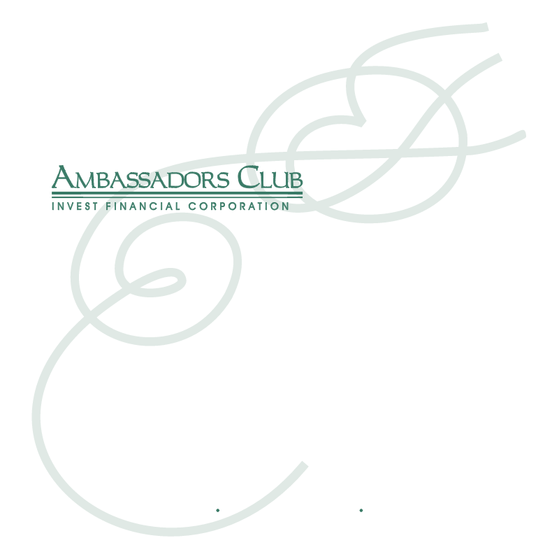 Ambassadors Club vector