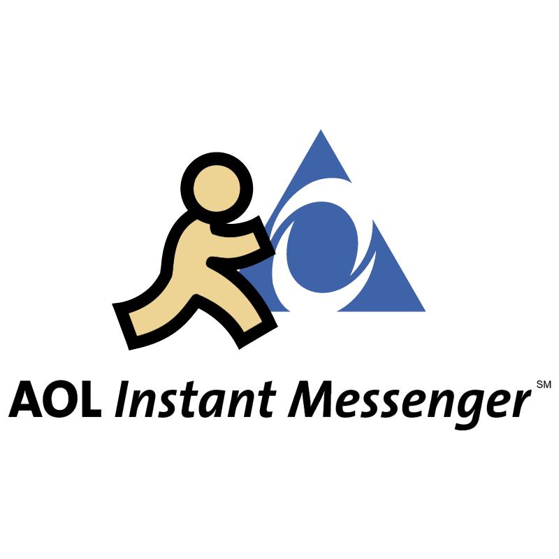 AOL Instant Messenger vector
