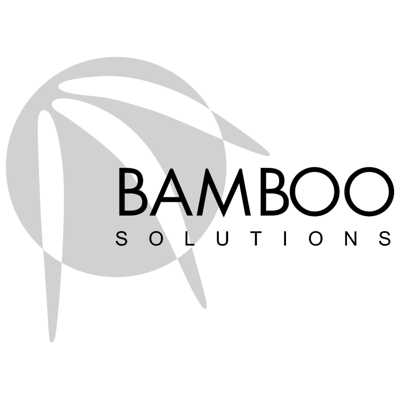 Bamboo Solutions vector