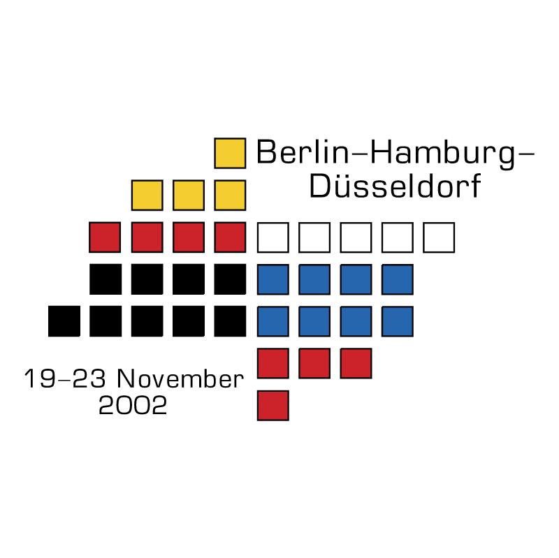 Berlin Hamburg Dusseldorf Expo vector
