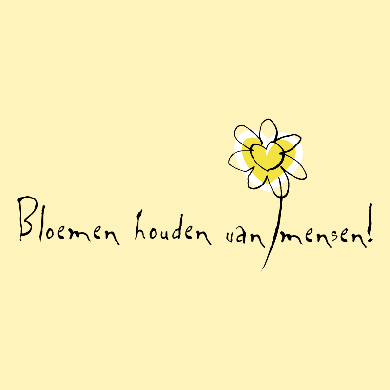 Bloemen houden van mensen 84181 vector