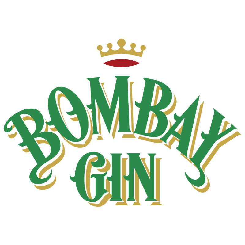 Bombay Gin 4545 vector