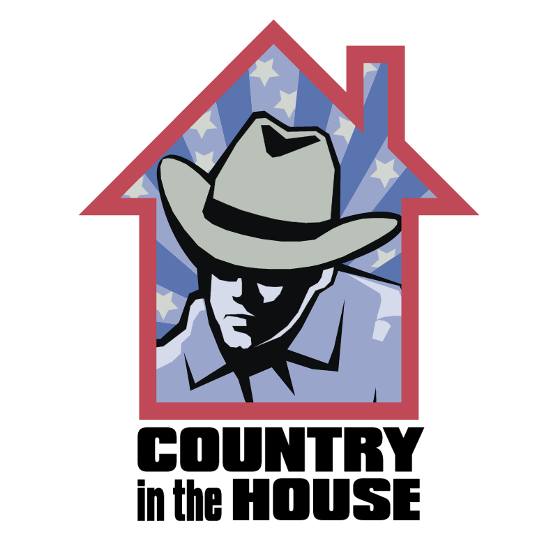 Country in the House vector
