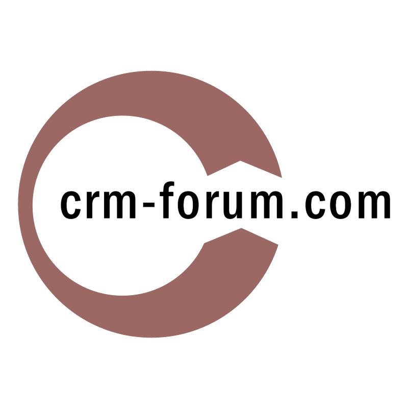 crm forum com vector logo