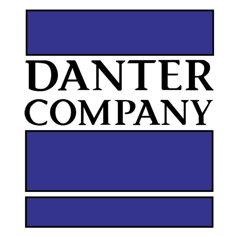 Danter Company vector logo