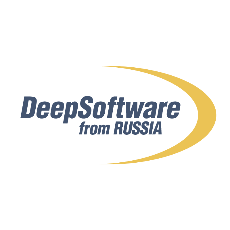 DeepSoftware from Russia vector logo