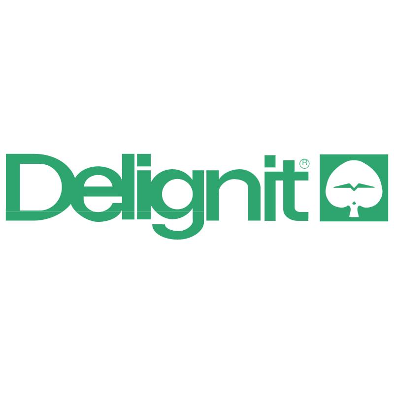 Delignit vector logo