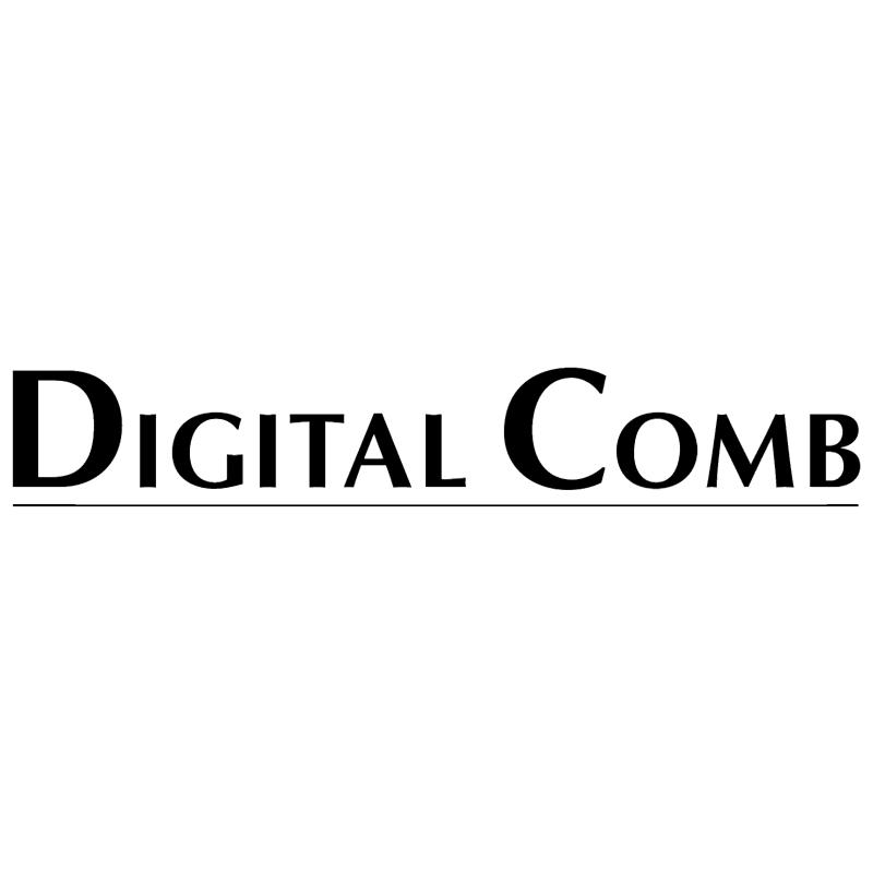 Digital Comb vector