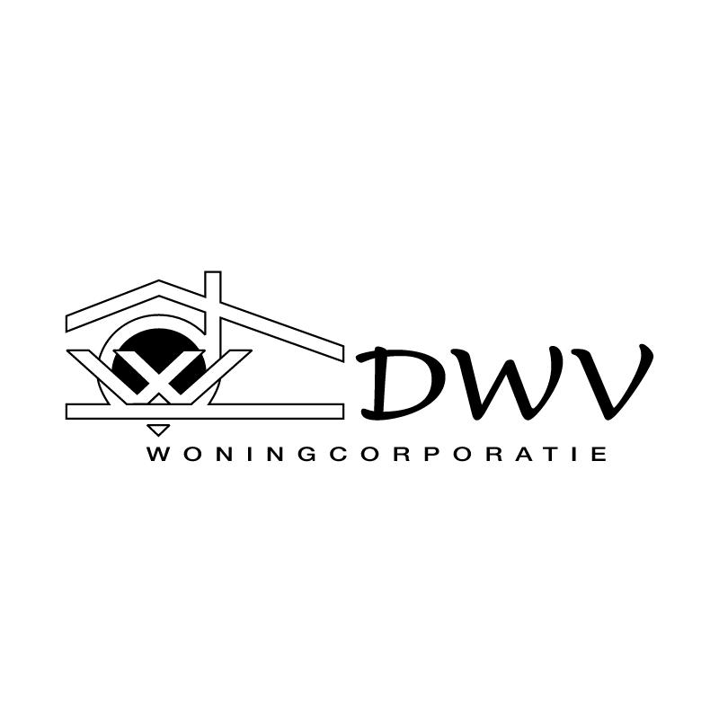 DWV Woningcorporatie vector logo