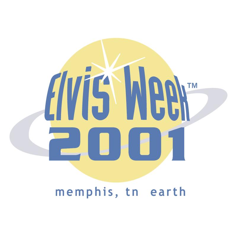 Elvis Week 2001 vector
