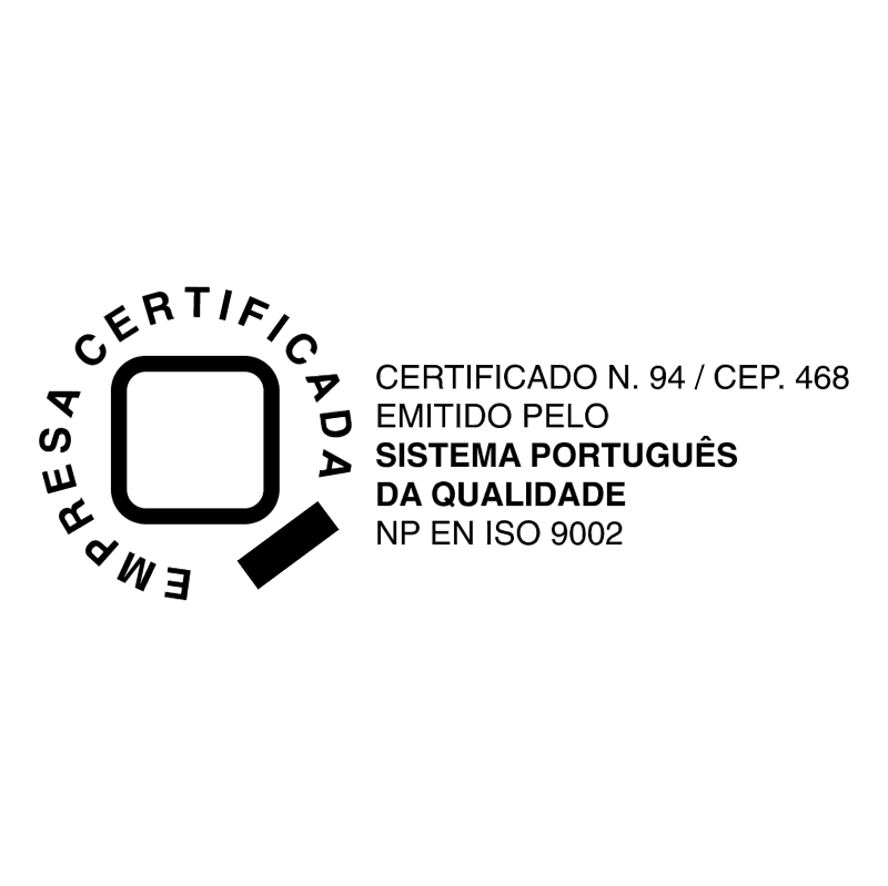 Empresa certificada vector