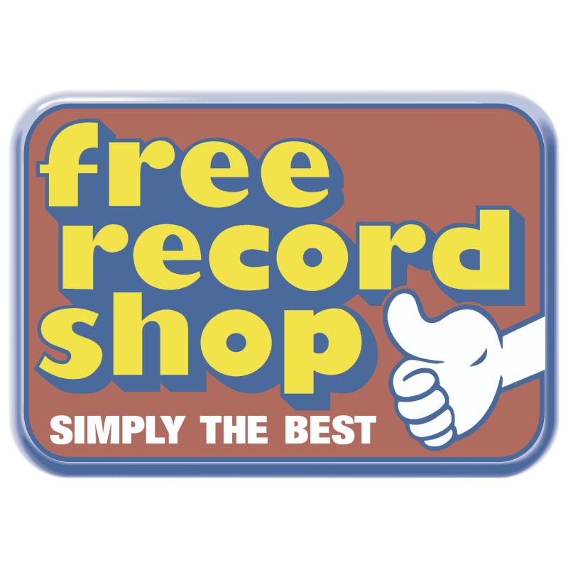 Free Record Shop vector