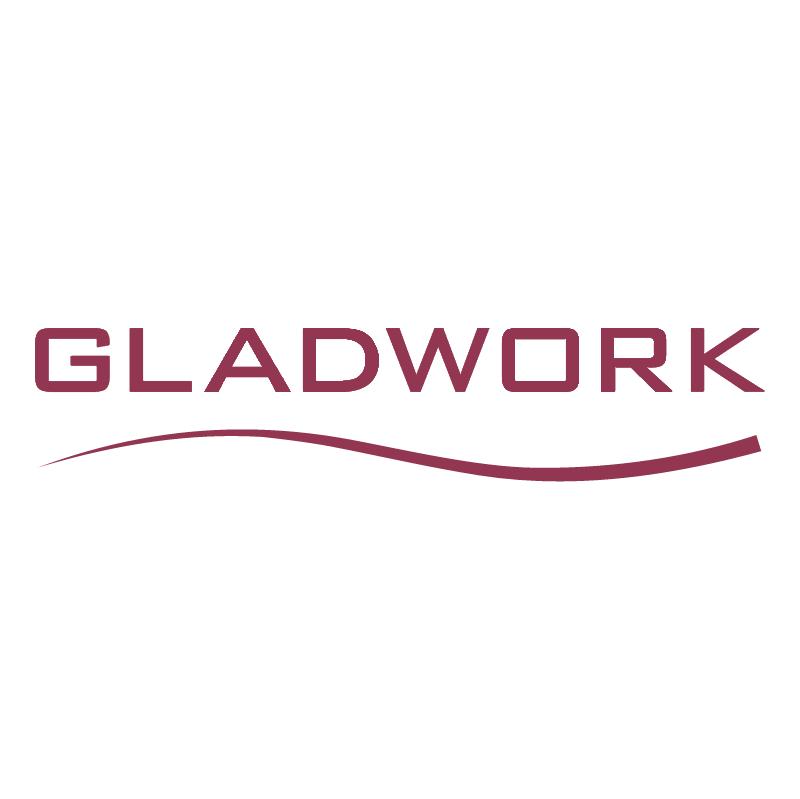 Gladwork vector logo
