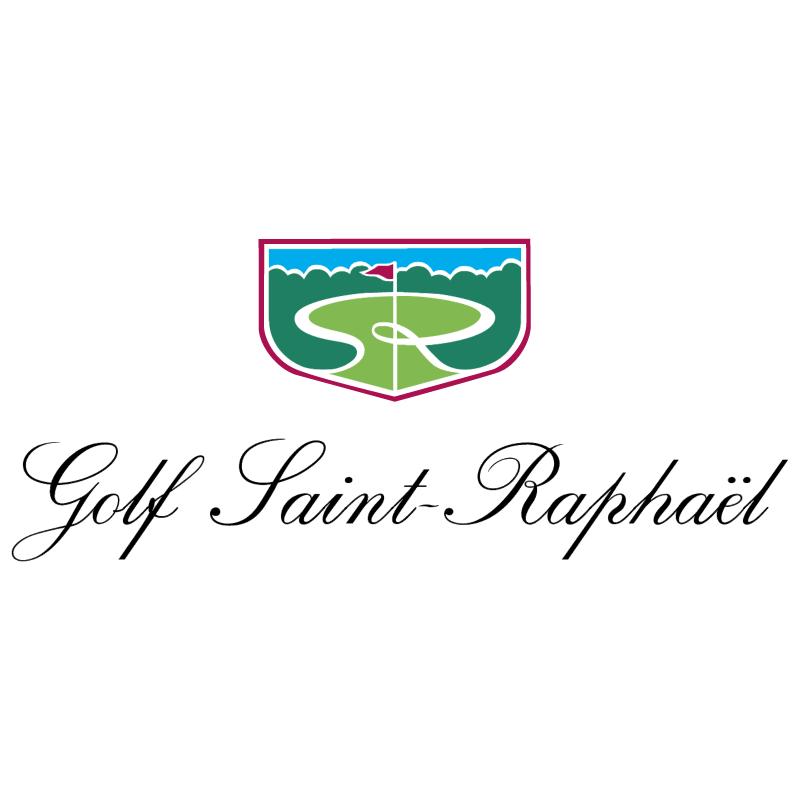 Golf Saint Raphael vector