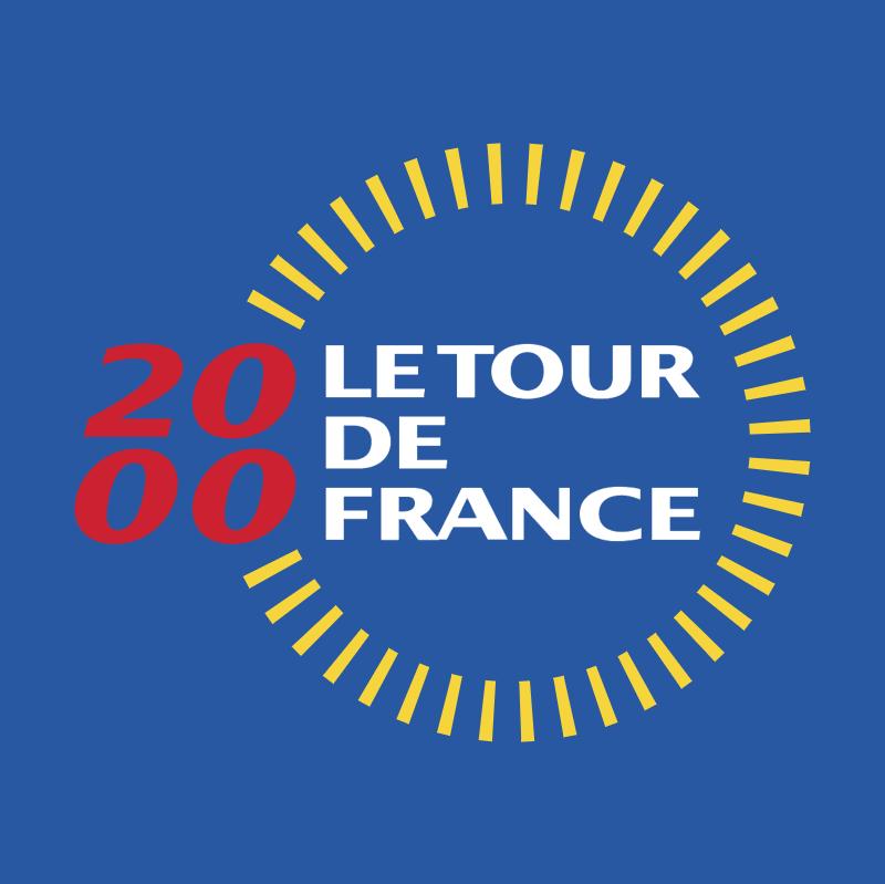 Le Tour de France 2000 vector logo