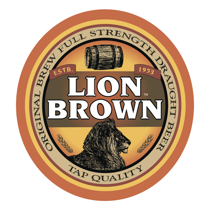 Lion Brown vector