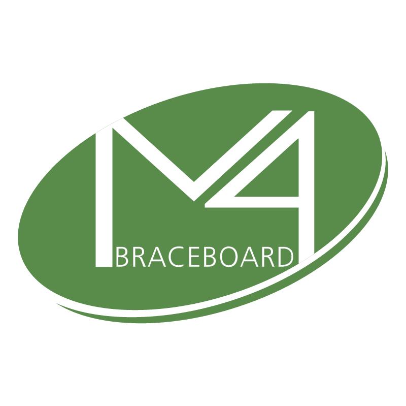 M4 Braceboard vector
