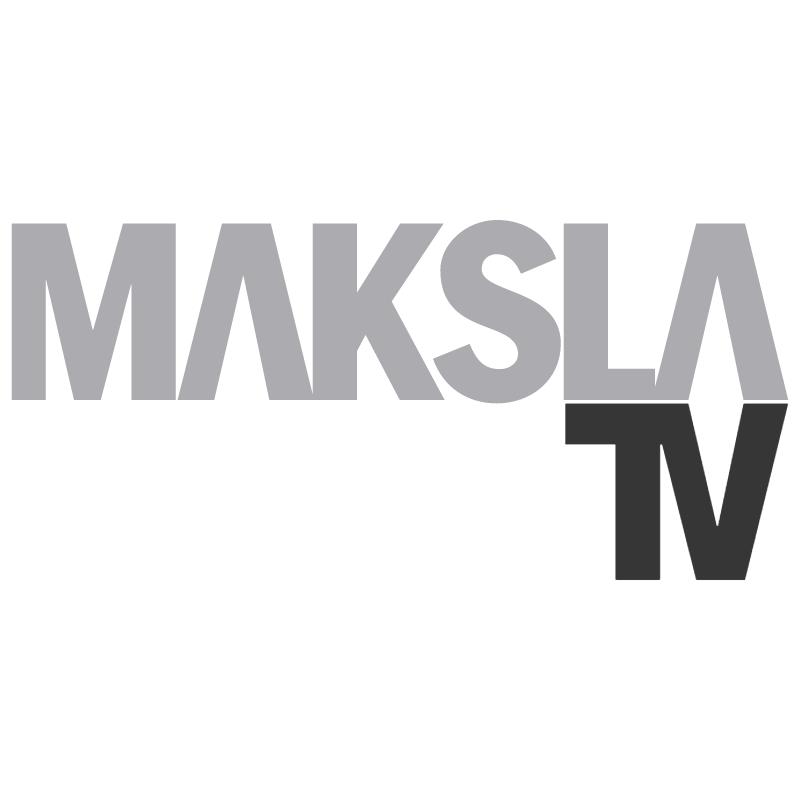 Maksla TV vector