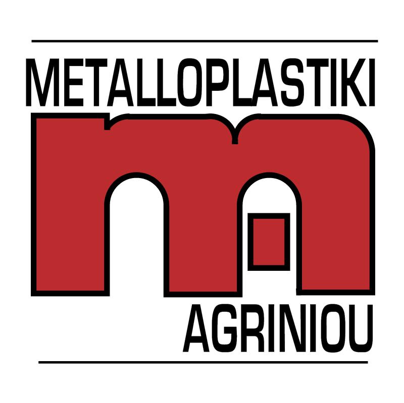 Metalloplastiki Agriniou vector