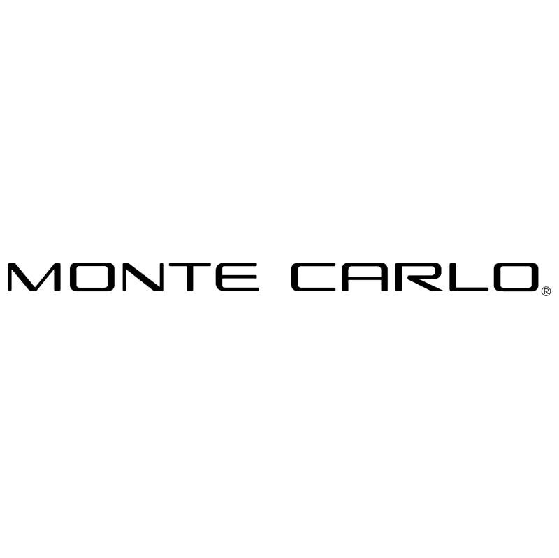 Monte Carlo vector logo