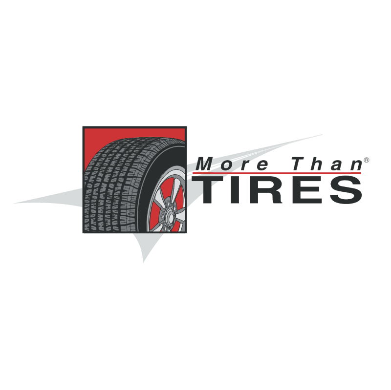 More Than Tires vector