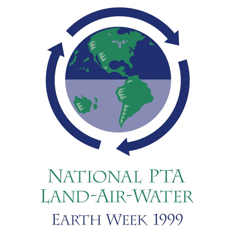 National PTA Land Air Water vector