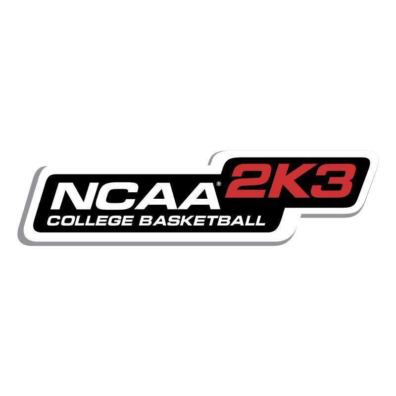 NCAA 2K3 College Basketball vector