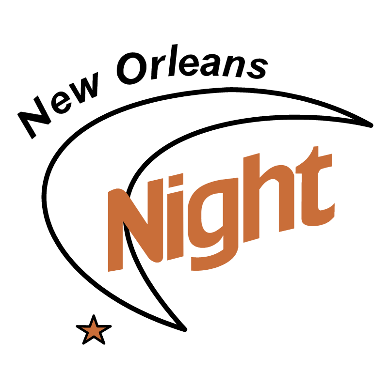 New Orleans Night vector