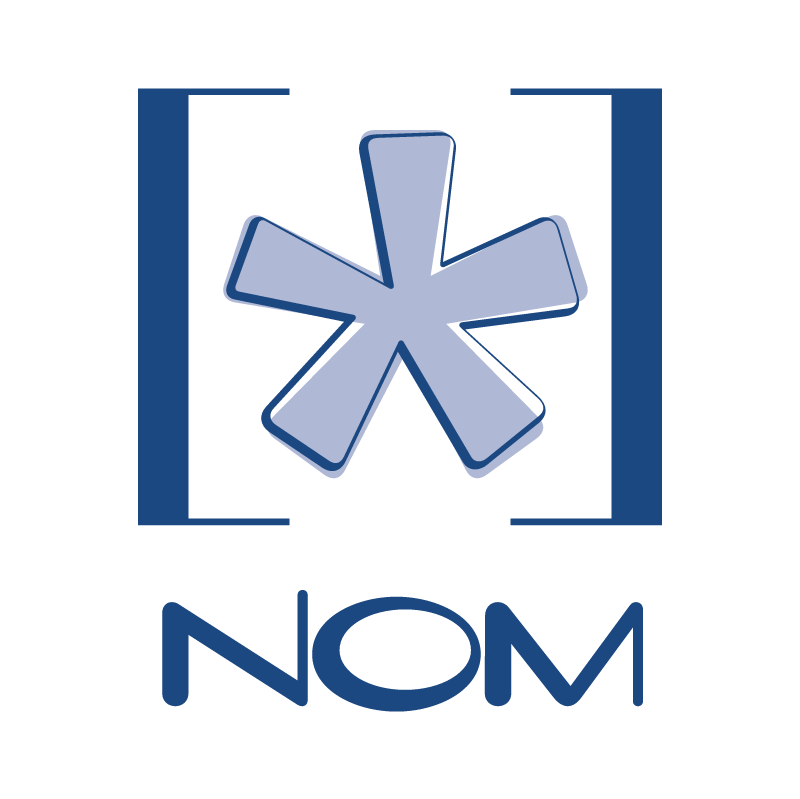 NOM vector logo