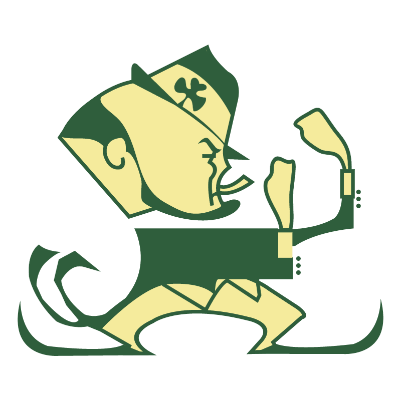 Notre Dame Fighting Irish vector