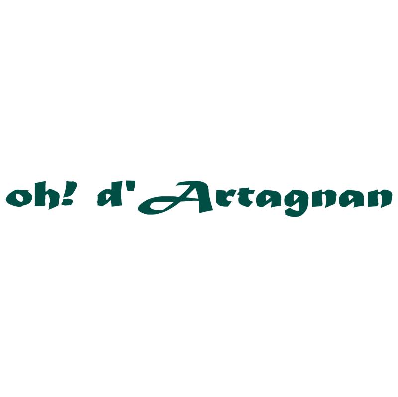 Oh! d'Artagnan vector
