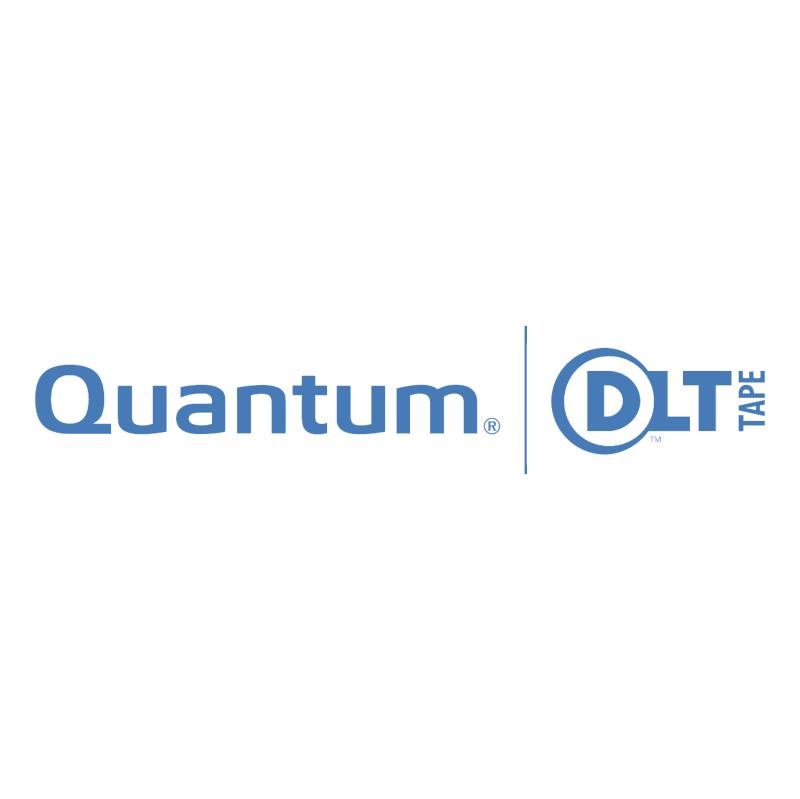 Quantum DLT Tape vector logo