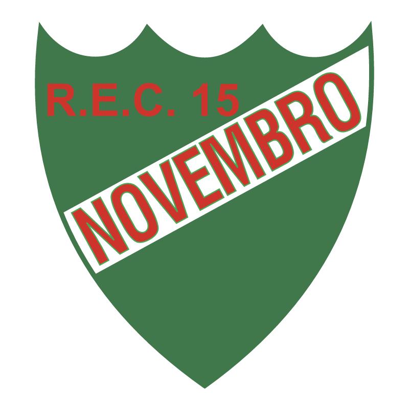 Recreio Esporte Clube 15 de Novembro de Igrejinha RS vector