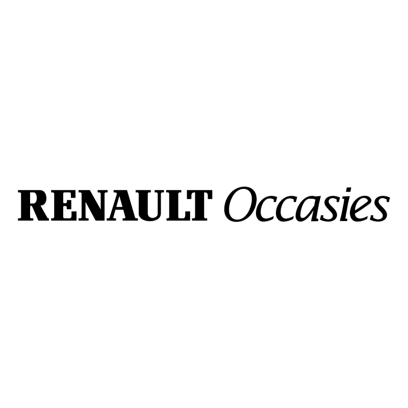 Renault Occasies vector