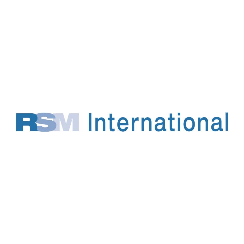 RSM International vector logo