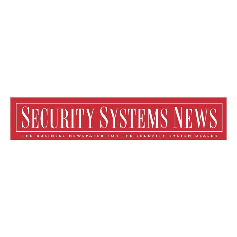 Security Systems News vector logo