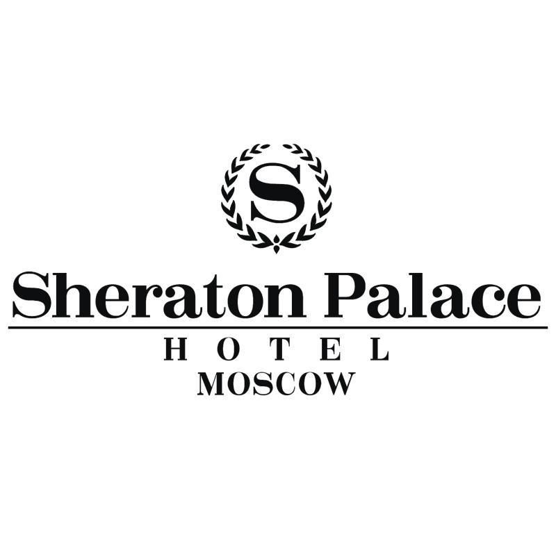 Sheraton Palace Hotel Moscow vector