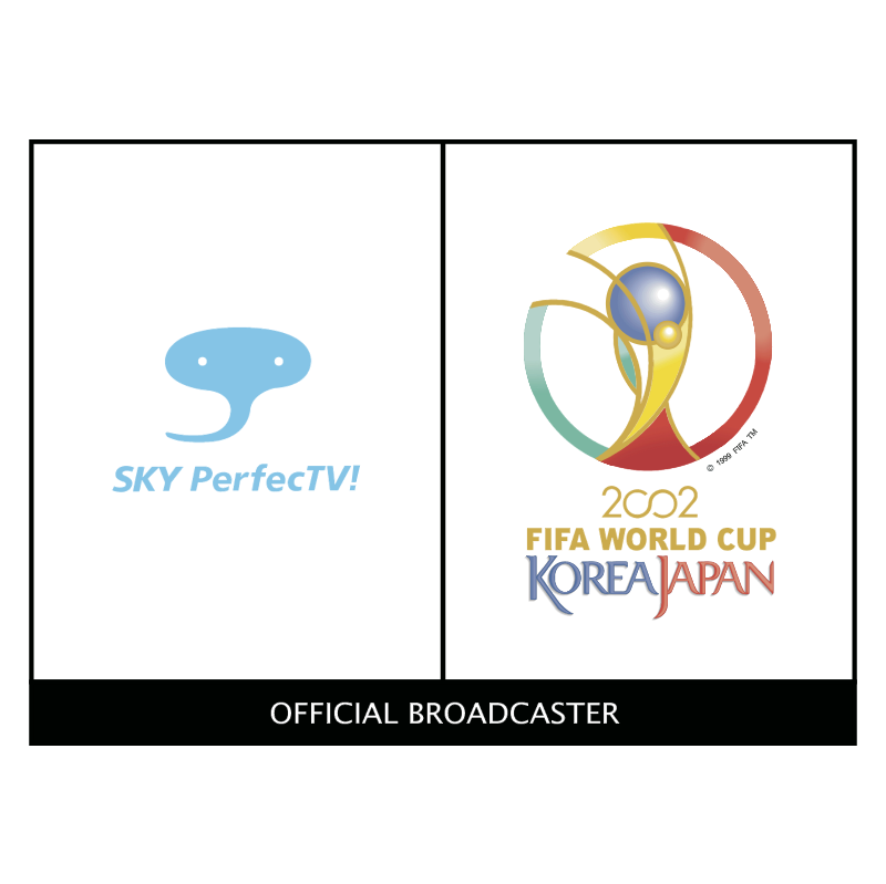 SKY PerfecTV 2002 World Cup Sponsor vector